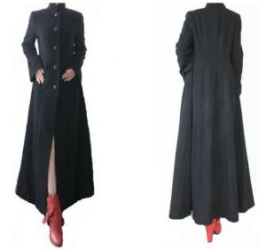 Free-shipping-autumn-winter-women-vintage-elegant-thicken-warm-x-long-ankle-length-wool-blends-coat